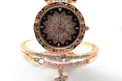 Beautiful Watch and Bangle set