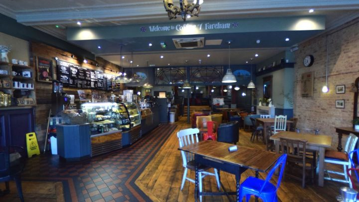 360 Virtual Tour of Coffee #1 Fareham